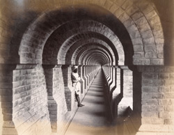 View in subway, [Nadrai Aqueduct, Lower Ganges Canal].
